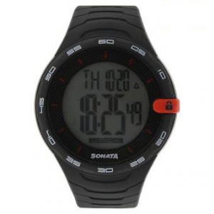 77041PP04 Touch Screen Grey Dial Digital Watch For Men