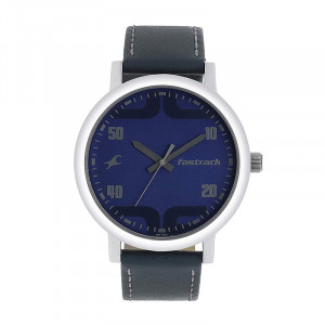 Fastrack Bold Analog Blue Dial Men's Watch-38052SL06