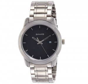 Sonata 8141SL02 Busybees Silver Dial Analog Watch For Women - Blue