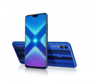 Honor 10 Lite | 6 GB RAM with 64GB | with Tronsmort 2.0 Quick Charger (Sky Blue)