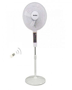 Blizzard BF-136 Remote controlled Stand Fan- (White)