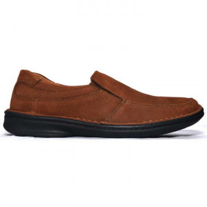 Shikhar Brown Casual Leather Shoes for Men - 1704