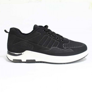 Black/White Sport Shoes For Men