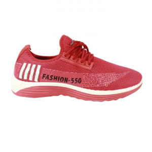 Red Fashion 550 Printed Running Shoes For Men - AV6