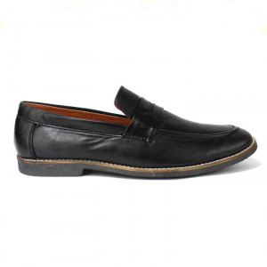 Coffee Brown Slip On Casual Shoes For Men-Duplicate