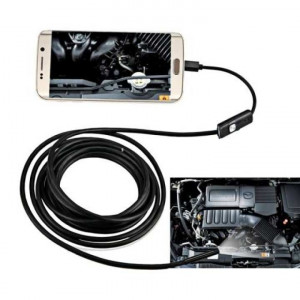 AN97 Waterproof Micro USB Endoscope Snake Tube Inspection Camera with 6 LED