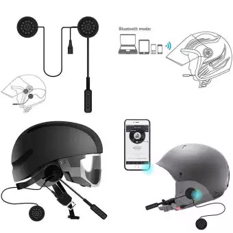 Buy Mh01 Motorcycle Helmet Wireless Bluetooth Headset Helmet Headphones Music Call Control Speakers Handsfree Online At Best Price In Nepal Reddoko Com