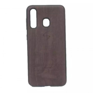 Plain Dark Brown Mobile Cover For Samsung A30