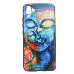 Lord Buddha Face Printed Mobile Cover For Vivo V11 Pro