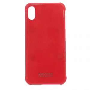 Plain Red Mobile Cover For Iphone X