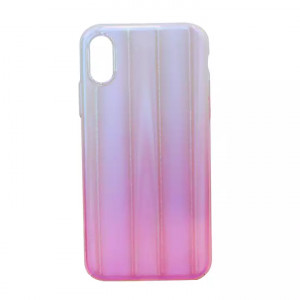 White/Pink Mobile Cover For Iphone X