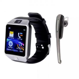 Combo Of Sim Supporting Smartwatch + Bluetooth Earphone