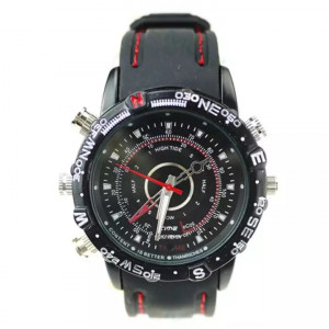 HP DVR Spy Wrist Watch With 8 GB Internal Memory
