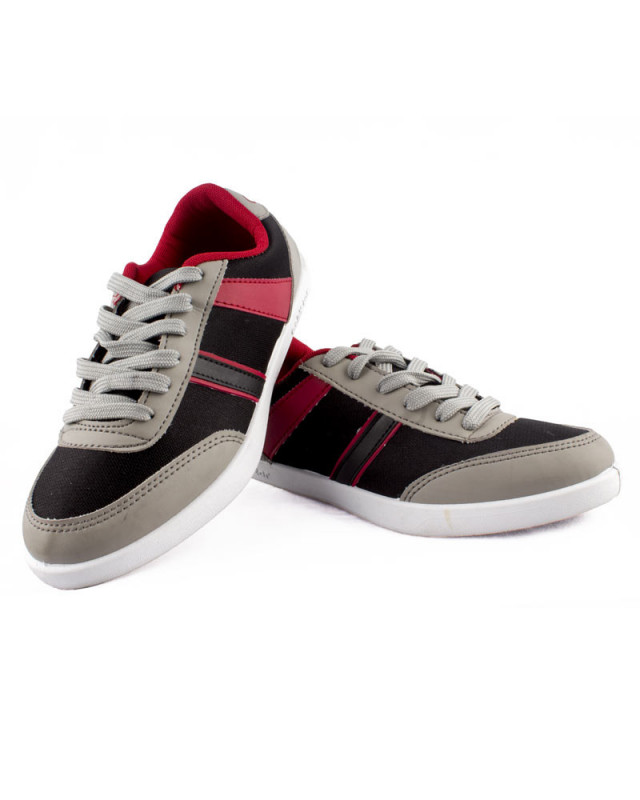 b3dbbb5a1c Buy Goldstar Red & Gray Casual Shoe (BNT-5) online at best price in Nepal -  Reddoko . com