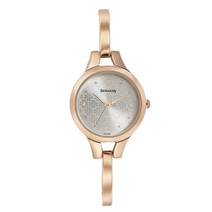 Sonata Blush It Up Analog Rose Gold Dial Women's Watch-8151WM05