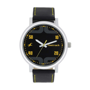 Fastrack Bold Analog Black Dial Men's Watch-38052SL05