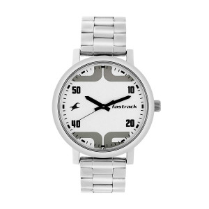 Fastrack Fundamentals Analog White Dial Men's Watch - 38052SM01