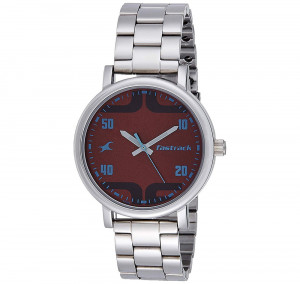 Fastrack Bold Analog Brown Dial Men's Watch-38052SM05