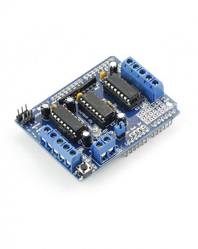 Buy l293d motor drive shield online at best price in nepal for L293d motor driver price