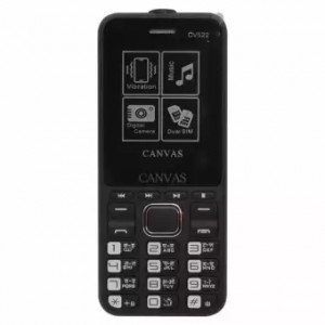 "Canvas 2.4"" Bar Phone - Black"