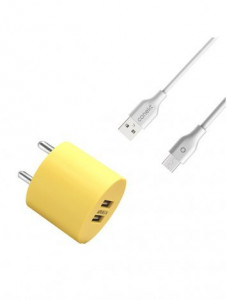 Conekt CH DASH - Duo (2.1A With Lightning Cable)