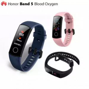 Honor Band 5 Smartband AMOLED Huawei Smartwatch Blood Oxygen Heart Rage Fitness Sleep Tracker Swiming Sport Trakcer GPS