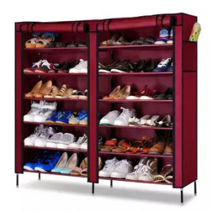 Double Capacity Shoe Rack (T-2712)