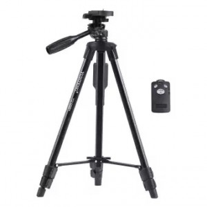 Yunteng Tripod With Detachable Bluetooth Remote (YT-5208)