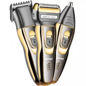 Gemei GM-595 Waterproof 3 In 1 Hair Clipper And Trimmer
