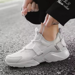 Wiled Trend Light Weight Breathable Casual Shoes - White
