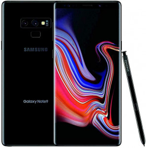 Samsung Galaxy Note 9 (128 GB Smartphone) with Samsung Rugged Military Grade Protective cover with Kickstand