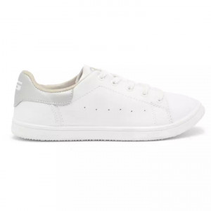 Goldstar White / Siliver Sports Shoes For Women - Vibes