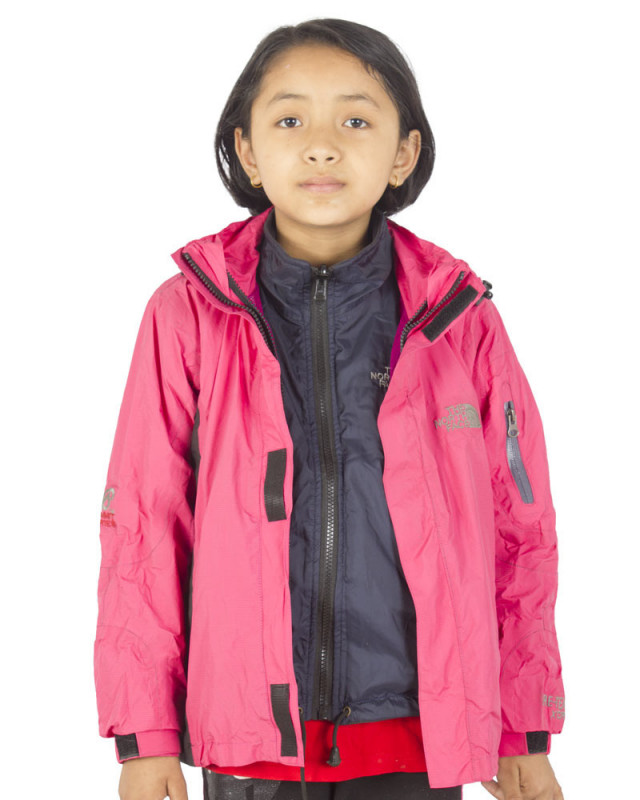 Buy The North Face Detachable Baby Goretex Pink Jacket Online At