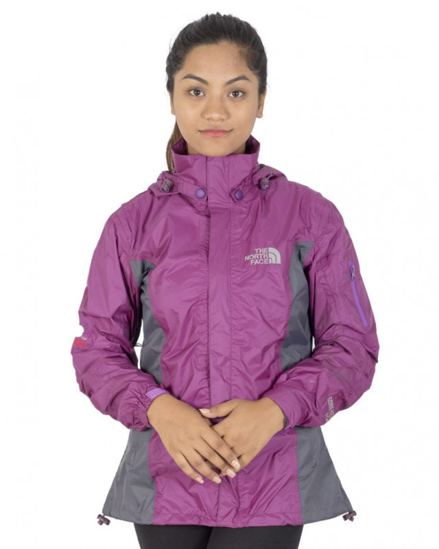 Buy The North Face Gents Ladies Purple Rain Jacket online at best ...