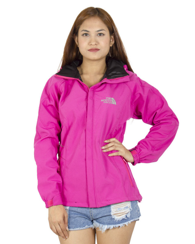 Buy The North Face Ladies Wind Stopper Jacket Magenta Online At