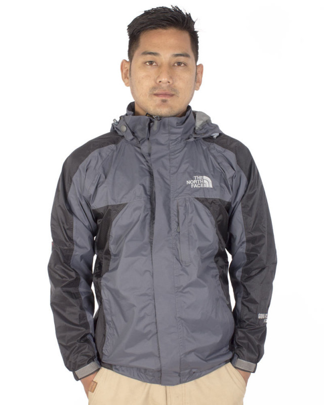 7f91a0480 The North Face Grey Rain Jacket- Male