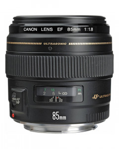 Canon EF 85mm f/1.8 USM Medium Telephoto Lens for Canon