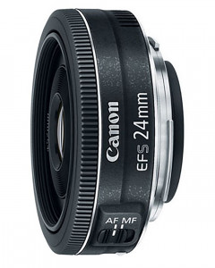 Canon EF-S 24mm f/2.8 STM Lens - Wide Angle