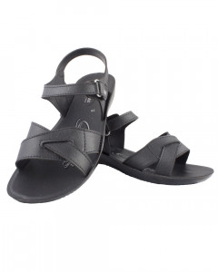 Shikhar Women's Black Sandals