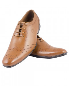 Shikhar Men's Wholecut Oxford Shoes