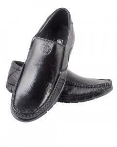 Shikhar Men's Black Stylish Loafers