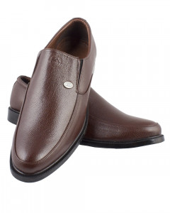 Shikhar Men's Classy Brown Formal Shoes