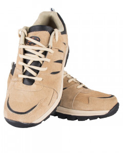 Shikhar Men's Light Brown Lace Up Sports Casual Shoes