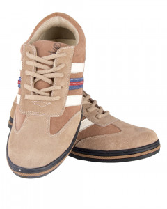 Shikhar Men's Light Brown Sports Working Shoes