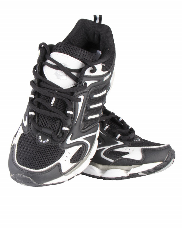 e612a4f3f0 Buy Shikhar Men's Black Stylish Sports Shoes online at best price in Nepal  - Reddoko . com