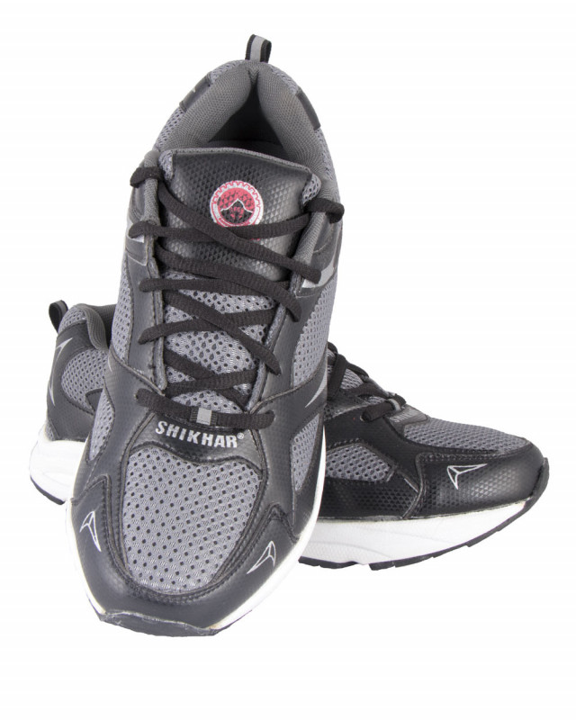 c795ede27f Buy Shikhar Men's Grey Assorted Lace Up Casual Sports Shoes online at best  price in Nepal - Reddoko . com
