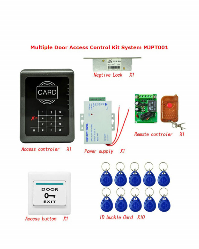 Buy Mjpt001 Electric Door Lock Magnetic Rfid Entry Access Control