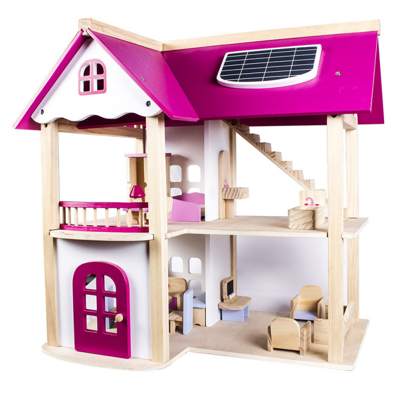 Buy Kconnecting Kids Wooden Pink Doll House For Kids Online At Best